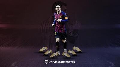 Somos TESTIGOS de la historia: Messi, Bota de Oro del 2019 venciendo a Mbappé
