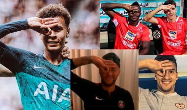 En fotos: los futbolistas que se atrevieron y lograron el Dele Alli Challenge