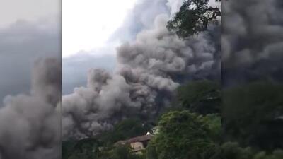 Video: Así fue la erupción del Volcán de Fuego en Guatemala