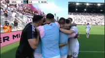 Pizarro inició el primero y provocó el segundo: los goles de Inter Miami