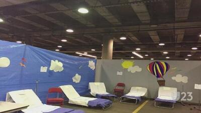 Equipo médico evaluará a las víctimas en el mega refugio de Dallas
