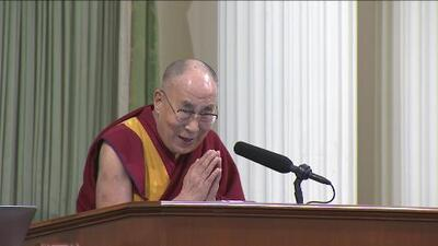 El Dalai Lama visitó Sacramento
