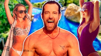 Irina Baeva y Gabriel Soto recibirán 2019 en Acapulco en la misma casa de playa que Geraldine Bazán amaba