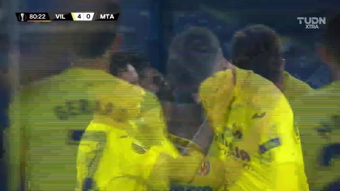 ¡GOOOL! Fernando Niño anota para Villarreal.