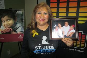Arianna vivió 5 años más gracias a St Jude
