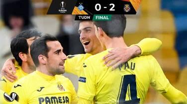 Villarreal venció al Dynamo en Kiev y pone un pie en Cuartos