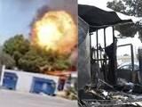 Video capta explosión que dejó varias casas móviles destruidas en Rosemead