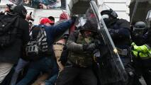 Enfrentamientos y caos: las imágenes más impactantes de lo ocurrido en el Capitolio