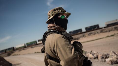 Un día con una milicia pro-Trump que patrulla la frontera en Nuevo México