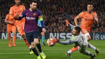 Lionel Messi confesó que el Lyon hizo sufrir al Barcelona en el Camp Nou