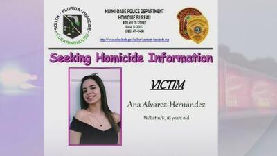 Buscan a los responsables de la muerte de una joven alcanzada por una bala perdida en Miami