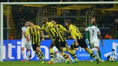 Borussia Dortmund 3 vs. 0 Shakhtar Donetsk: El Dortmund busca ser la 'bestia negra'