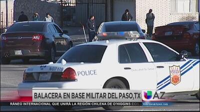 Balacera en base militar de Texas