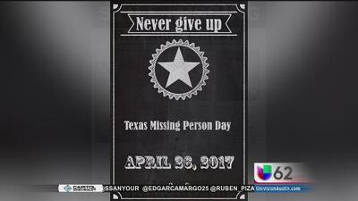 Una solicitud busca reconocer el 26 de abril como el 'Día de los desaparecidos' en Texas