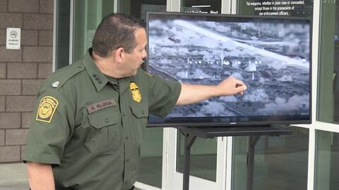 Cerca de 400 inmigrantes cruzan la frontera por Arizona y se entregan a la Patrulla Fronteriza