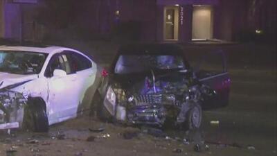 Buscan a los sospechosos de robar un vehículo y ocasionar un accidente en Houston
