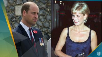 Sin pelos en la lengua, el príncipe William habla de la bulimia de Lady Di