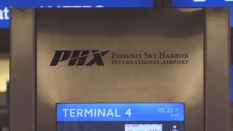 Momentos de caos en el aeropuerto de Phoenix por el hallazgo de paquete sospechoso