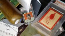 Descubren colección millonaria de tarjetas de Babe Ruth