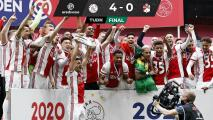 ¡Edson es campeón de la Eredivisie con el Ajax!