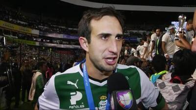"""Carlos Izquierdoz: """"Sufrimos, pero lo conseguimos"""""""