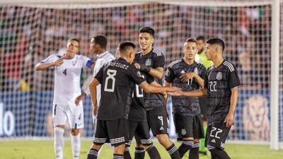 ¡Tri histórico! México consuma la mayor goleada ante Cuba en la historia de sus partidos en Copa Oro