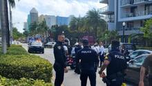 Persecución de dos carros robados en menos de 24 horas sacuden a Miami Beach