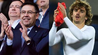 Josep Maria Bartomeu confirmó acercamientos con Antoine Griezmann
