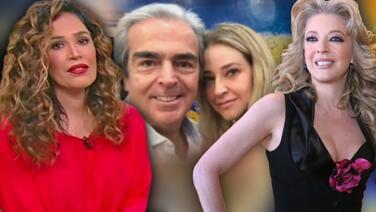 """Karla Martínez reacciona al noviazgo del viudo de Edith González: """"Es difícil para un hombre quedarse solo"""""""