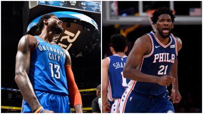 Carrusel NBA: Paul George, Joel Embiid, LaMarcurs Aldridge, en modo playoffs, lideraron los triunfos este martes