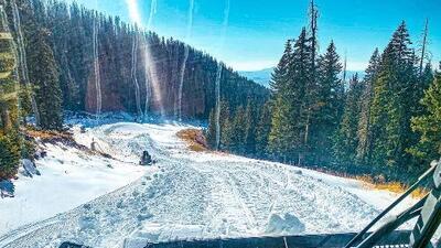 ¡Así luce Flagstaff a solo días de la temporada oficial de esquiar!