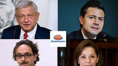 Segundo debate presidencial en México por Galavisión