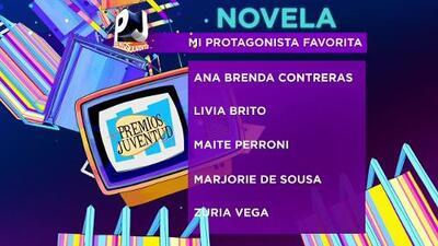 Nominados en la categoría Novelas
