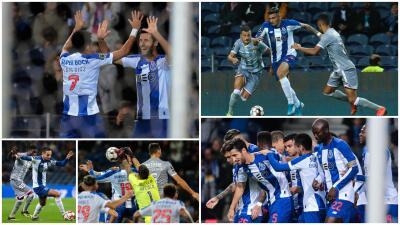 Corona juega los 90 en el triunfo del Porto