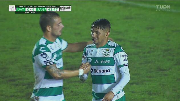 ¡Solito! Adrián Lozano sentencia con el 4-0 sobre Correcaminos