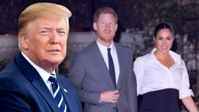 """Donald Trump quiso aclararle al príncipe Harry por qué llamó """"nasty"""" a Meghan Markle, pero no pudo"""