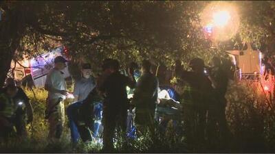 Muere el indigente del accidente en el que un vehículo se incendió al chocar contra un árbol