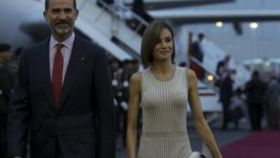 Los Reyes de España llegan a México