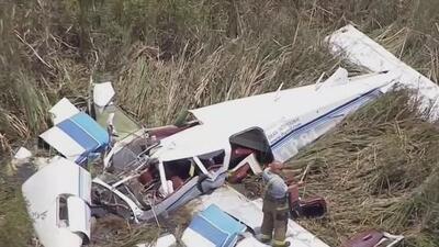 Encuentran el cuerpo de la cuarta víctima mortal del accidente de avionetas en los Everglades