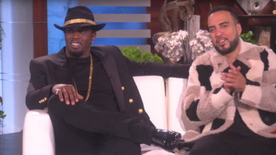 Diddy tells Ellen about how 'humble' French Montana is