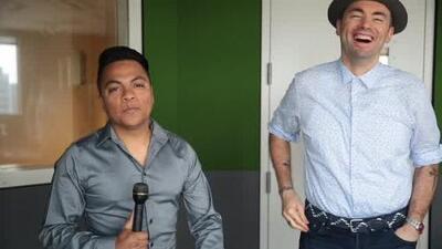 Santiago Cruz llegó a Dallas para hablar de 'Trenes, Aviones y Viajes Interplanetarios'