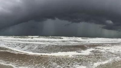 San Agustín, Florida se prepara para la cercanía de Dorian con esta impresionante imagen del cielo y el mar