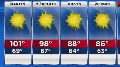 Se mantiene la alerta de bandera roja por temperaturas extremas en Los Ángeles