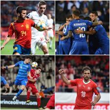 En fotos: los resultados del inicio de la jornada 6 en las eliminatorias rumbo a la Euro 2020