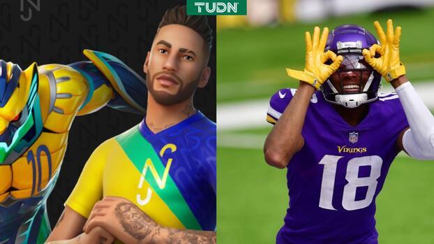 Neymar y Justin Jefferson con 'Get Griddy' estarán en Fortnite