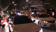 La celebración de la Independencia de México provoca atasco de tráfico en el centro de Chicago
