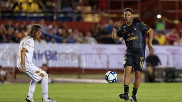 La actuación de Ronaldinho fue opacada en el Andrés Quintana Roo