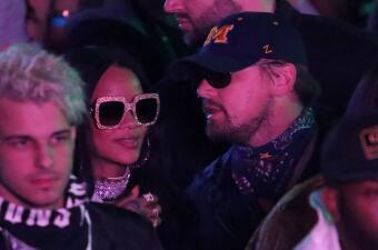Rihanna y Leonardo DiCaprio reaparecen muy cariñosos, ¿romance a la vista?