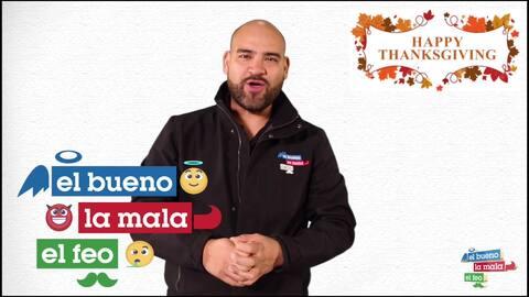 Raúl 'El Pelón' tiene la receta perfecta para el pavo en Acción de Gracias