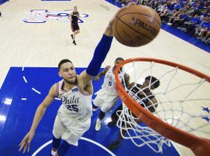 Ben Simmons aprobó, ¿cómo les fue a los debutantes en playoffs en la NBA?